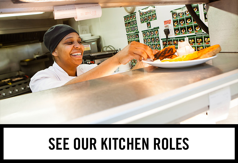 Kitchen roles at Stags Head
