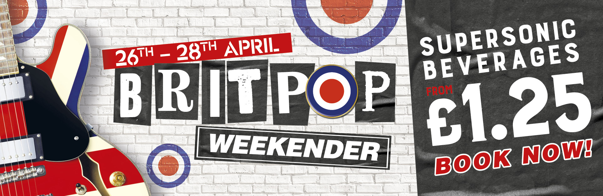 Britpop Weekender at Stags Head